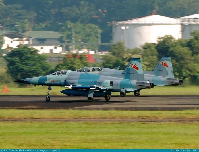 TS-0508 dan TS-0516 F-5 E dan F-5 F