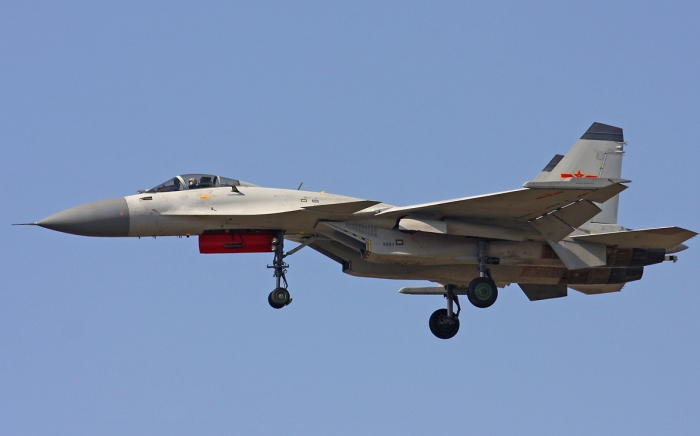 Chinese J-15 Flying Shark and Varyag Aircraft Carrier  takoff operational carrier landing missile sd-10 pl-12 pl-10 asr bvr ramjet pgm ls-6 (1).jpg
