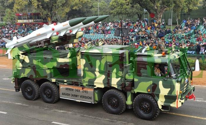 Akash-1's Army-Specific Motorised TEL